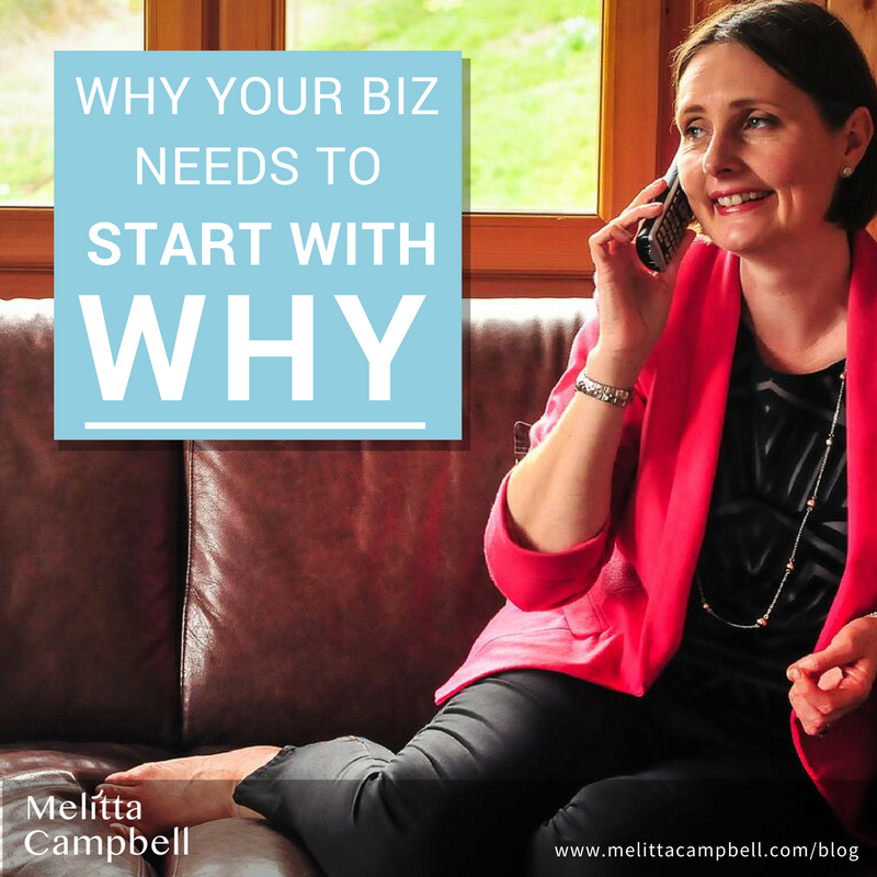 Why you need to start your biz with Why
