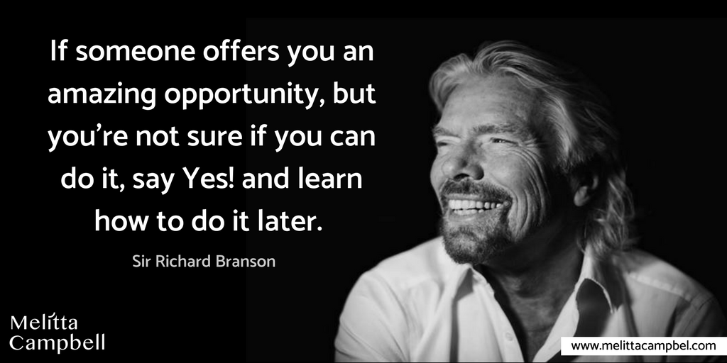 Branson Quote-Say Yes to Opportunities