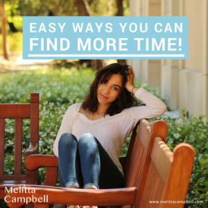 Easy Ways to Find More Time