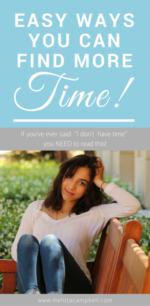 Easy Ways You Can Find More Time