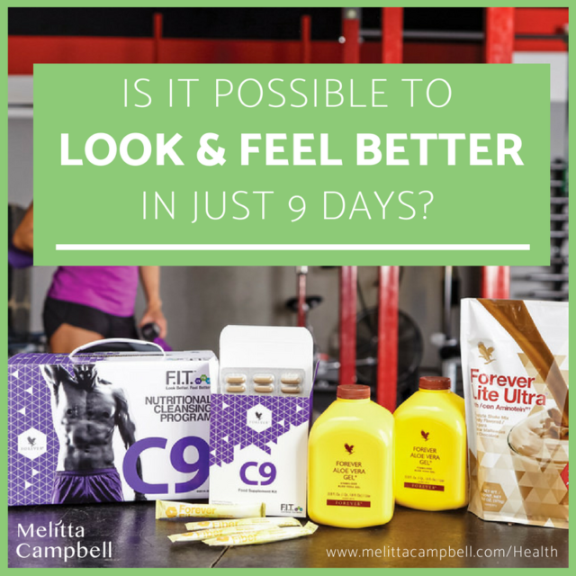 Is it possible to look and feel better in just 9 days?