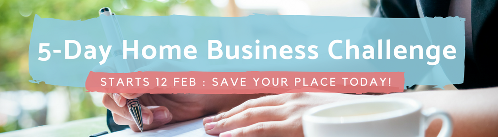5-Day Home Business Challenge - Register today!
