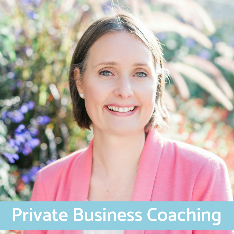 Private Business Coaching - Start your business the right way
