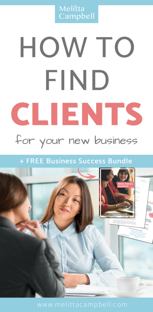 How to find your first clients for your new business