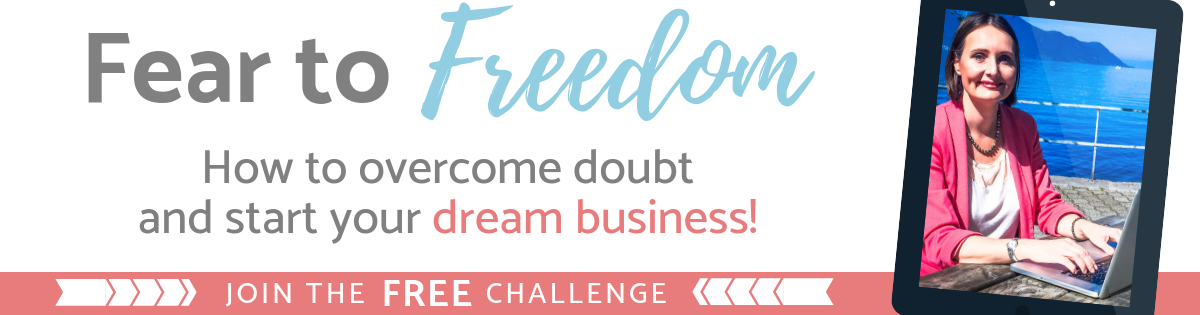 Join the Free Fear to Freedom 5-Day Challenge.