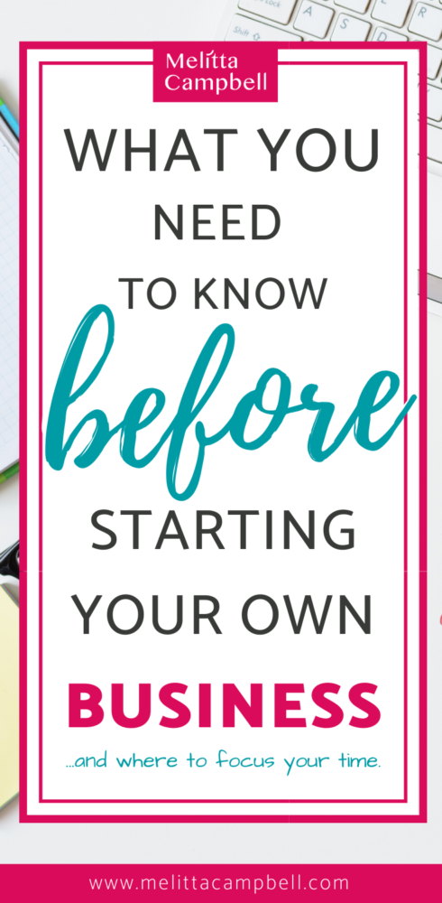 What you need Before starting your own business