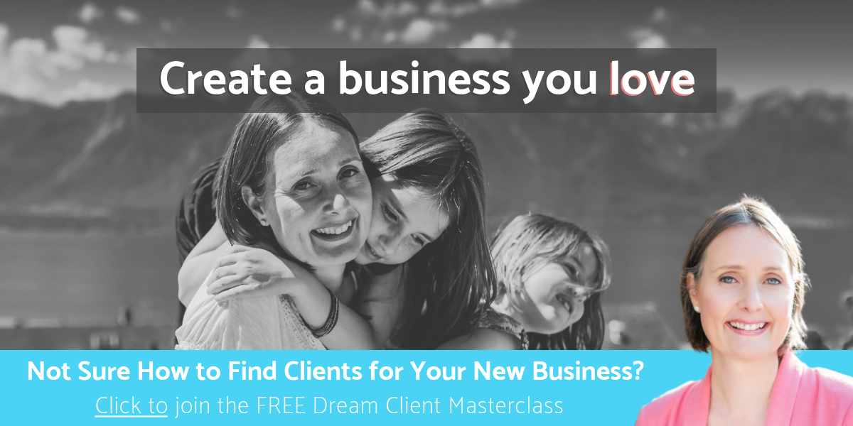 Create a business you love with Melitta Campbell, Business Coach for Women
