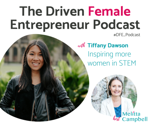 Inspiring Women in STEM - Tiffany Dawson - Podcast