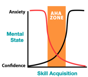 Moving through the Aha Zone - your business coach can help