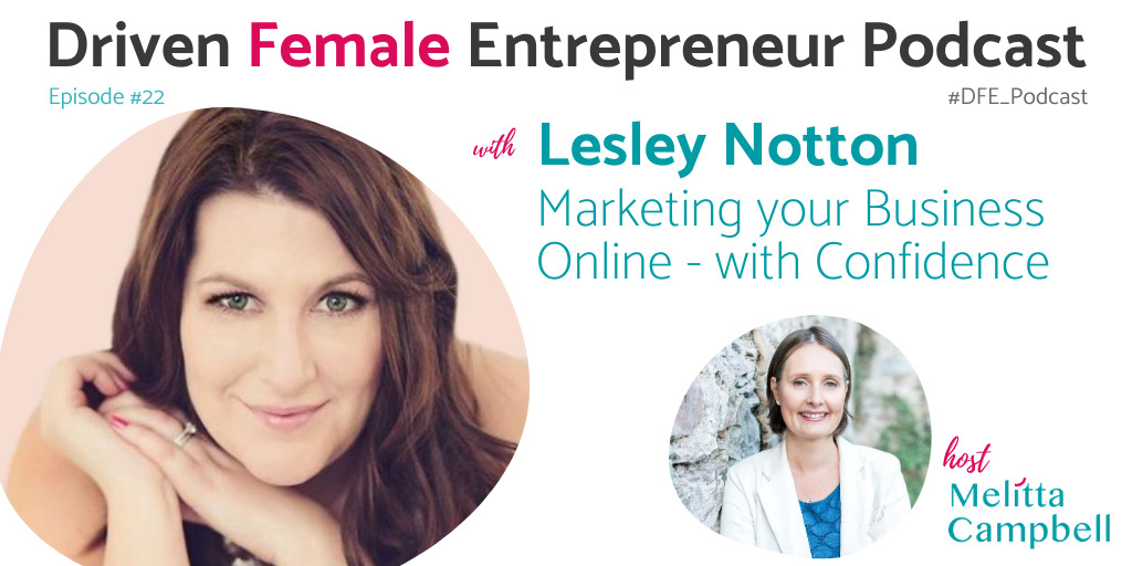 Lesley Notton - Marketing your Business Online with Confidence