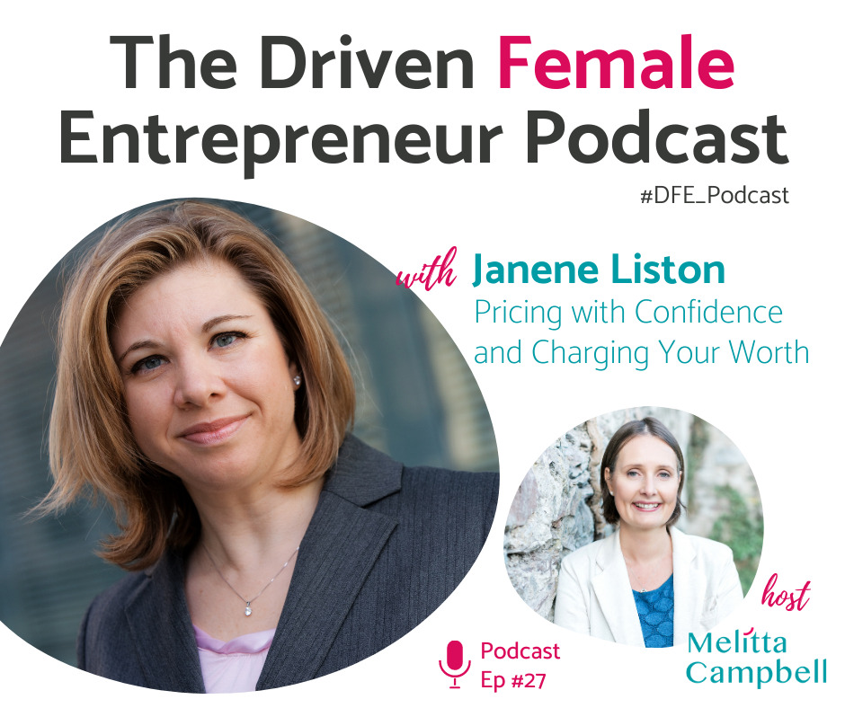 Pricing with Confidence and Charging Your Worth - Janene Liston