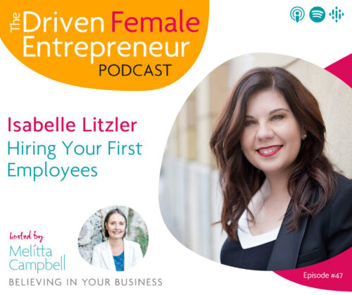 Hiring Your First Employees - Isabelle Litzler