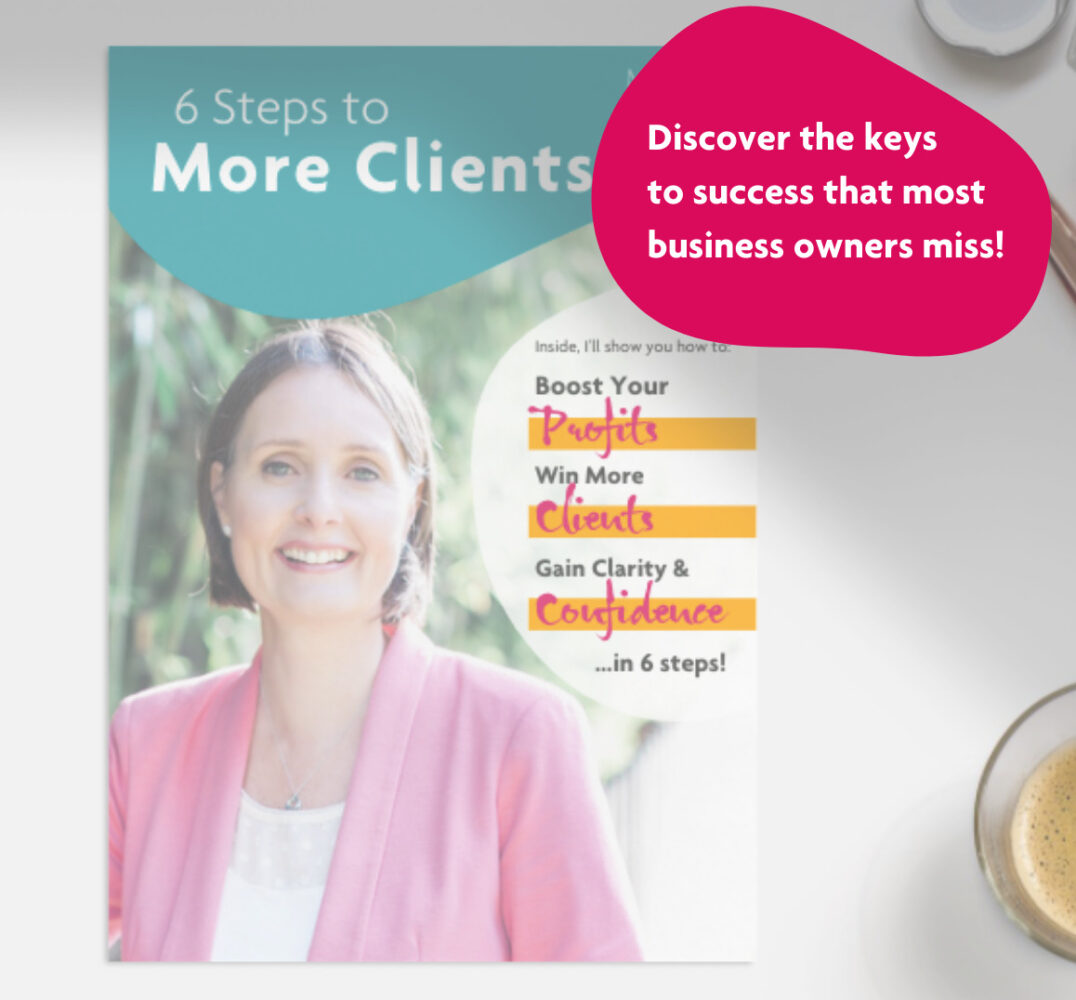 6 Steps to More Clients - free eBook