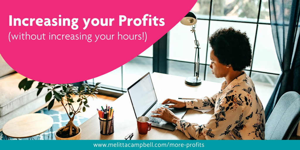 Increasing your Profits, without increasing your hours! Article