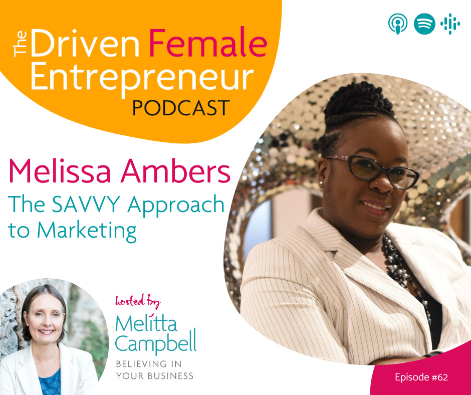 The SAVVY Approach to Marketing - Melissa Ambers