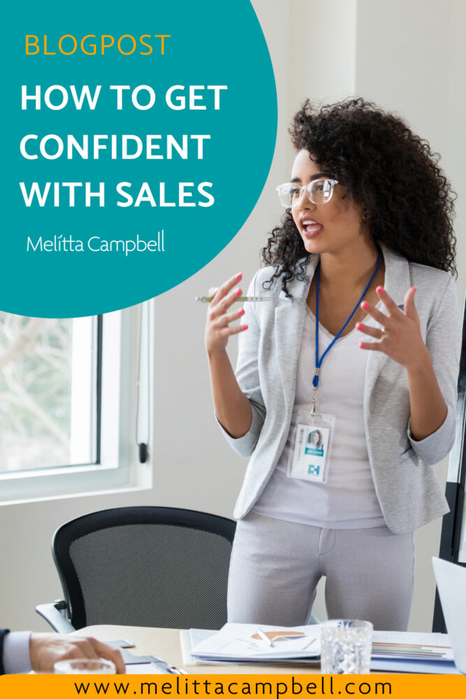 how to get confident with sales