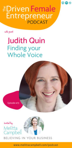 Finding Your Whole Voice - Judith Quin